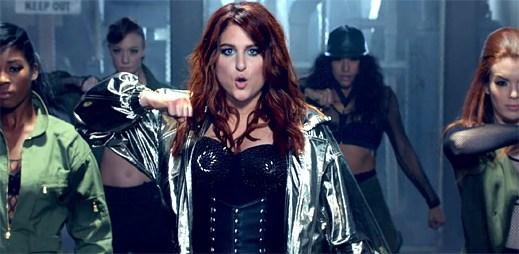 Meghan Trainor ukazuje svou druhou sexy taneční tvář v klipu NO