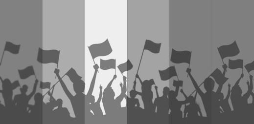 Trapas: Pochodu za práva heterosexuálů se zúčastnil jen jediný člověk
