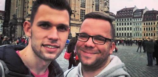 Smutná zpráva: Český gay pár Luboš Procházka a Matěj Smlsal se rozchází