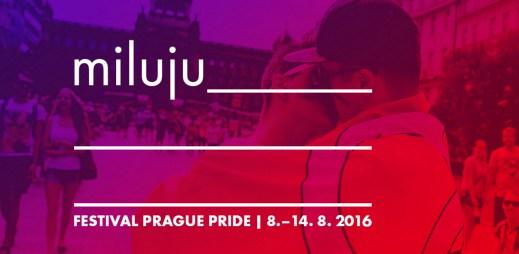 Prague Pride 2016: Gayové mají právo na lásku