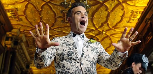 Robbie Williams vsází na ruskou sílu v klipu Party Like A Russian