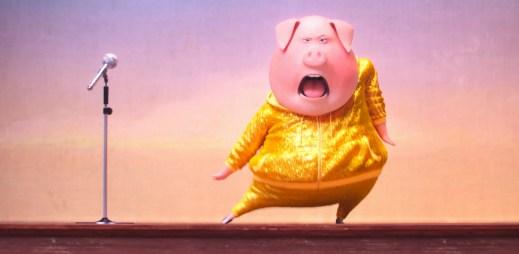 Trailer k animovanému filmu Zpívej: Už jste viděli prasátko zpívat hit od Lady Gaga?