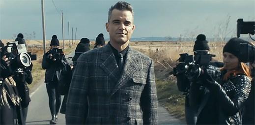Robbie Williams je středem pozornosti v novém klipu Love My Life