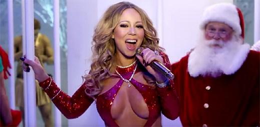 3 nové vánoční klipy vydává královna Vánoc Mariah Carey