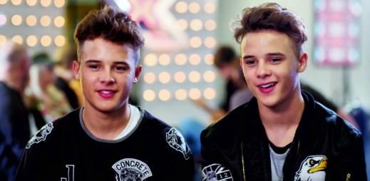 Zpěváci Josh a Kyle Brooks se znovu vrátili do X-Factoru, aby zazpívali hit Beyoncé