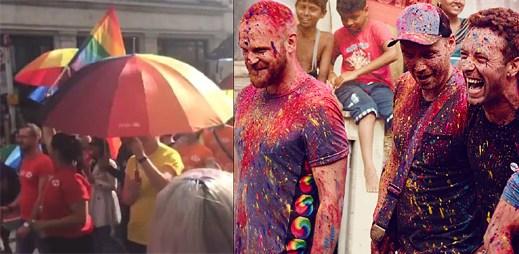 """Zapomeňte na vše špatné s Coldplay a jejich gay friendly klipem """"Amazing Day"""""""