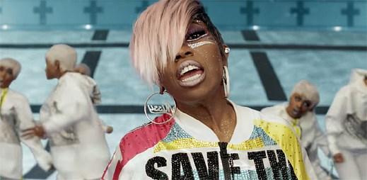 """Missy Elliott v klipu """"I'm Better"""" spouští futuristickou vizuální show"""