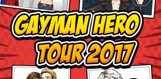 Gayman rozjíždí Hero Tour 2017! Bude v několika českých i slovenských městech