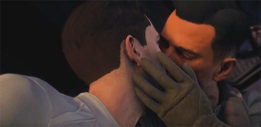 Ve hře Mass Effect: Andromeda si můžete užít gay scénku, ale LGBT fanoušci s ní mají problém