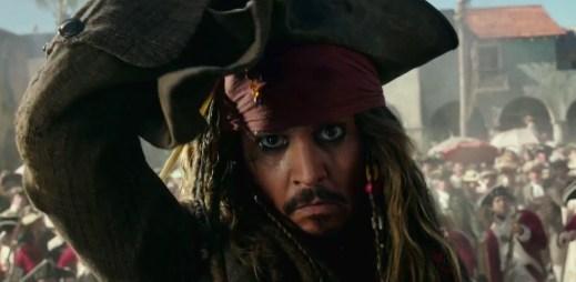 """Nový trailer """"Piráti z Karibiku: Salazarova pomsta"""" odhaluje další dobrodružství Johnnyho Deppa"""