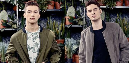 11 fotek jarní inspirace módní značky Smog pro mladé muže