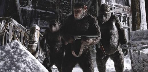 """Podívejte se na druhý trailer k očekávanému filmu """"Válka o planetu opic"""""""