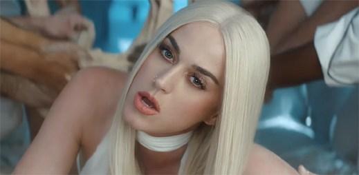 """Katy Perry ovládl kanibalismus v úchvatném klipu """"Bon Appetit"""""""