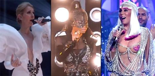 15 skvělých vystoupení z Billboard Music Awards 2017 v čele s Cher a Céline Dion