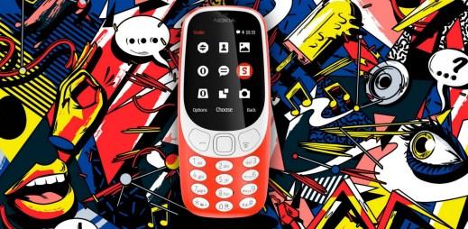 """Je zpátky: Nová Nokia 3310 už dorazila do obchodů. Bude také """"nerozbitná""""?"""