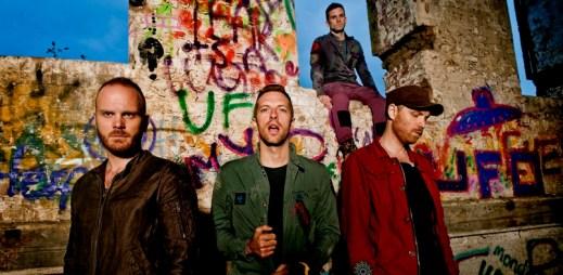 """Kapela Coldplay má nový singl """"All I Can Think About Is You"""" a brzy vydá desku Kaleidoscope"""
