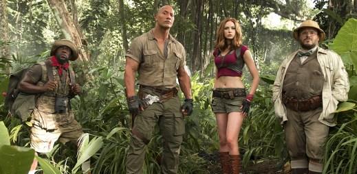 """Trailer: """"Jumanji: Vítejte v džungli"""". Připravte se na návštěvu naprosto nového světa!"""