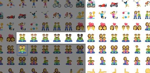 Facebook přidal 125 nových rodinných smajlíků. Nechybí dva GAY tatínkové s dětmi!