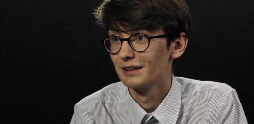 """Mladý Martin Kubeš se zastal gayů: """"Není důvod, proč by se na základě sexuální orientace měly dělat rozdíly"""""""