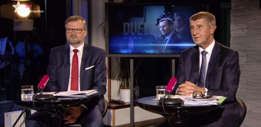 Duel Jaromíra Soukupa: Petr Fiala z ODS nechce gayům povolit adopci dětí, Andrej Babiš s adopcemi problém nemá