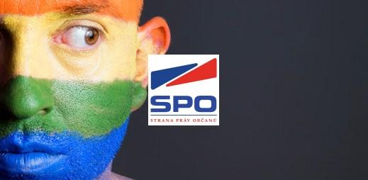 """Koho volit? SPO Miloše Zemana: """"Nesouhlasíme se sňatky gayů"""""""