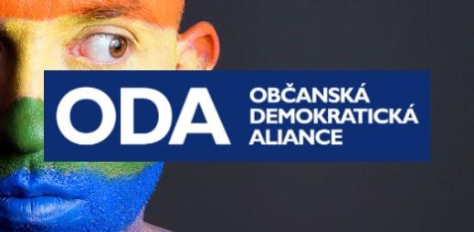 """Koho volit? ODA: """"Nesouhlasíme s adopcí dětí homosexuálními páry"""""""