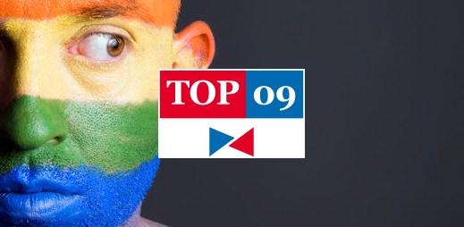 """Koho volit? TOP 09: """"Nesouhlasíme se sňatky gayů ani s adopcí dětí homosexuálními páry"""""""