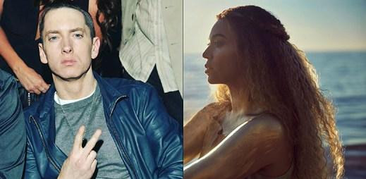 """Vychutnejte si neočekávané hudební spojení Eminema a Beyoncé v rappové baladě """"Walk On Water"""""""