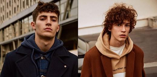 9 fotografií nové módní kolekce Pull & Bear. Připravte se na chladné dny!
