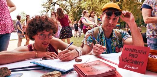 Jsme fér: Chceme manželství pro gaye. Sbíráme 50 000 podpisů, do 1. máje!