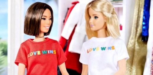 Na trh přichází nový typ panenky Barbie, která podporuje LGBT manželství