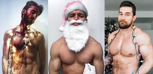 Instagram: 11 sexy namakaných vánočních kluků, se kterými se budete chtít setkat pod jmelím