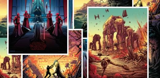"""Soutěž: 10 setů těchto úžasných plakátů """"Star Wars: Poslední z Jediů"""""""