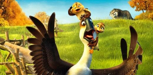 """Trailer k filmu """"V husí kůži"""": Tihle ptáci si svůj život užívají plnými zobáky!"""