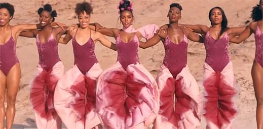"""Janelle Monáe dokazuje, že s růžovou barvou se rodí budoucnost v klipu """"Pynk"""""""