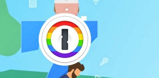 Služba 1Password dočasně změnila logo, aby podpořila Gay Pride 2018
