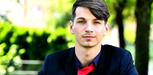 Matěj Nebúrka: Do Gaymana 2018 jsem se přihlásil, protože se chci prosadit v dobročinných akcích