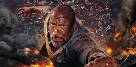 """Trailer k filmu """"Mrakodrap"""": Dwayn Johnson se vrací jako akční hrdina"""