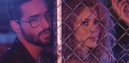 """Shakira a Maluma se stávají nejvíce sexy kolumbijským párem klipem """"Clandestino"""""""