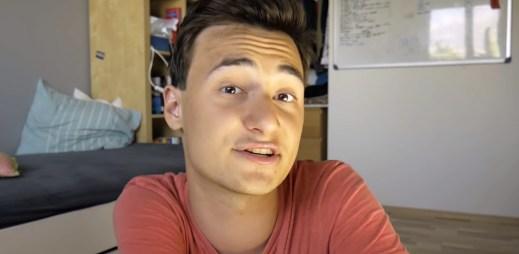 """Český youtuber Lukefry: """"Gay komunita má moji podporu. Být hetero, homo nebo bi je normální!"""""""