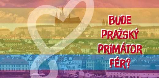 Bude pražský primátor podporovat gaye? 5 kandidátů na primátora Prahy se zúčastní debaty Jsme fér