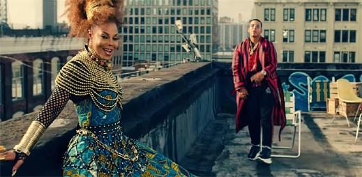 """Janet Jackson roztancovává latinským rytmem celé město v klipu """"Made For Now"""""""