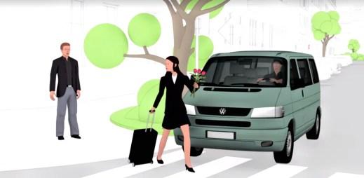 Bezpečná jízda: Nezapomeňte, nesmíte vstoupit na přechod bezprostředně před blížícím se autem