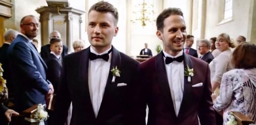 """Gay svatba: Arne a Alex si řekli své """"ano"""". Manželství pro všechny chceme také v Česku!"""