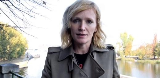 """Herečka Anna Geislerová: """"Držím palce, aby poslanci povolili manželství pro gaye a lesby"""""""