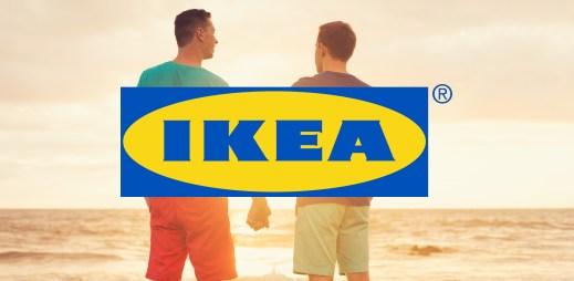 """IKEA Česká republika: """"Souhlasíme s manželstvím pro gaye a lesby"""""""