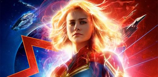 """Nový trailer k filmu """"Captain Marvel"""": Vychutnejte si žhavou ukázku z očekávaného filmu s novou superhrdinkou"""