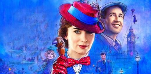 """Trailer k filmu """"Mary Poppins"""": Ekonomická krize zuří, ale tajemná chůva vám dokáže nalézt radost i štěstí"""