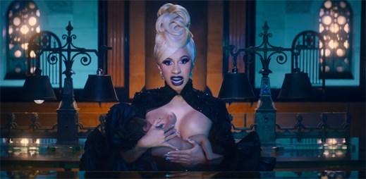 """Cardi B v klipu """"Money"""" ukazuje, kdo je tady šéfkou"""