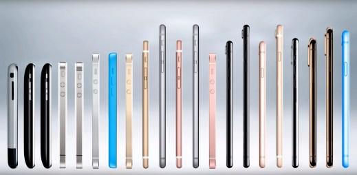 Znáte všechny modely iPhonů? Podívejte se na 11 let, které měnily svět mobilních telefonů